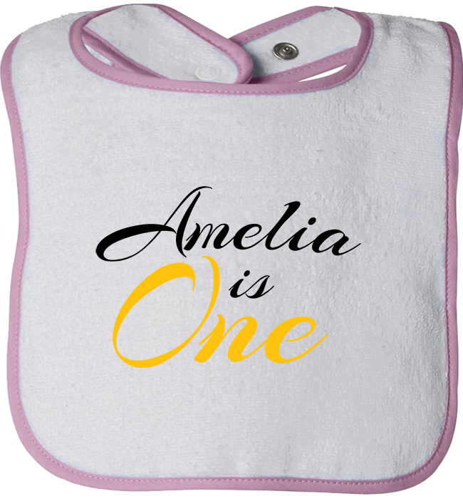 Personalized 1st Birthday Bibs - Kensleys - 2