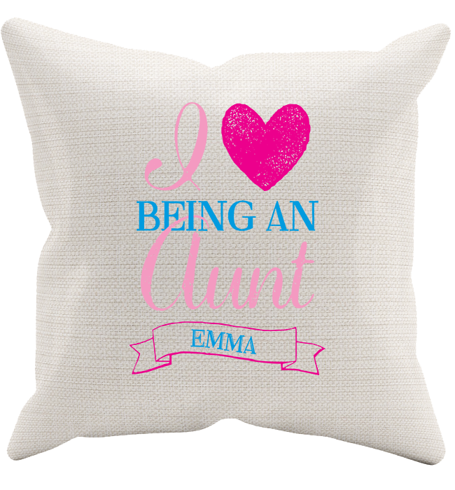 Personalized Aunt's 3 Pillowcase - Kensleys