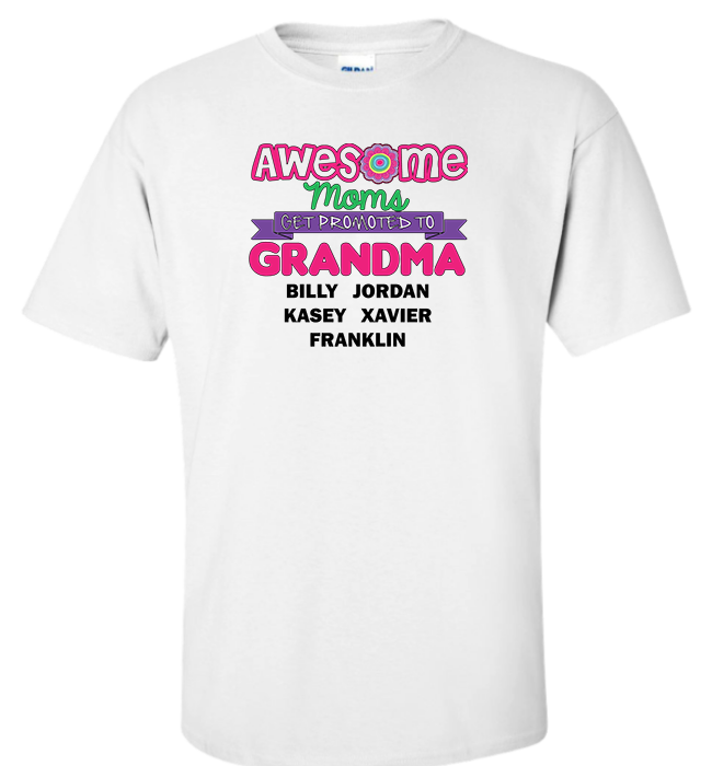 Personalized Awesome Apparel - Kensleys - 7