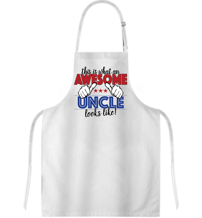 Awesome Uncle Apron - Kensleys