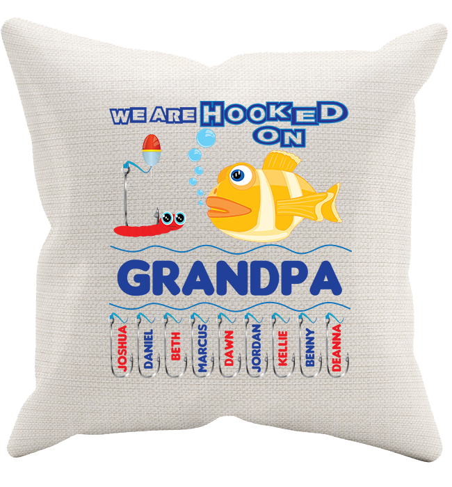 Personalized Grandpa Pillowcase - Kensleys