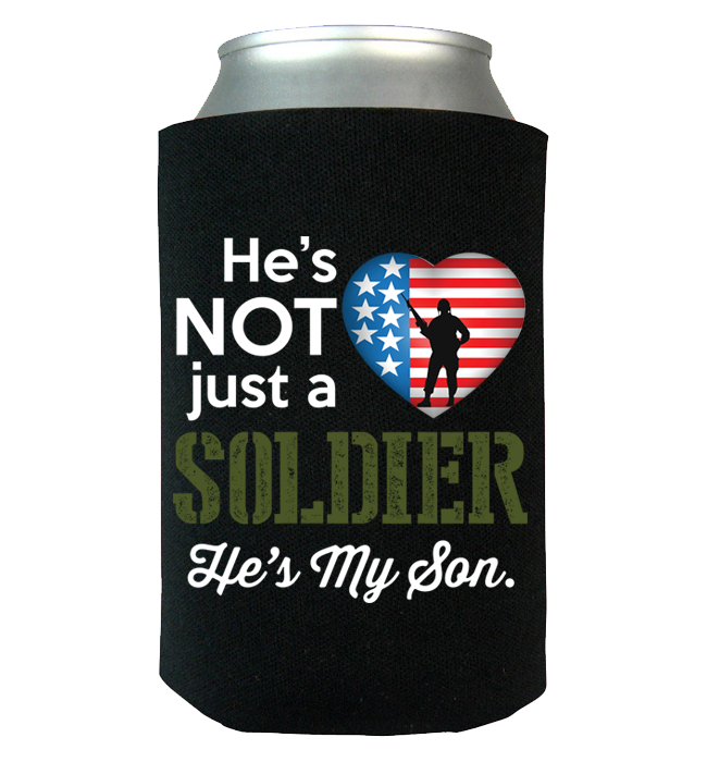 He's Not Just A Soldier Canwrap - Kensleys