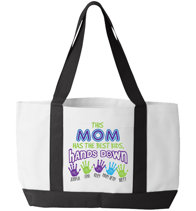 Personalized Mom Totebag - Kensleys