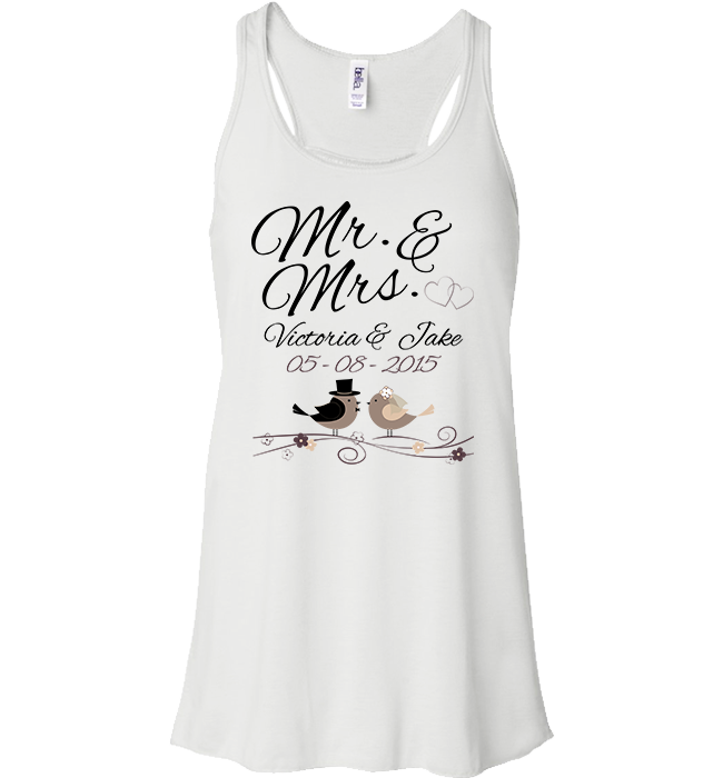 Personalized Mr Mrs Apparel - Kensleys - 7