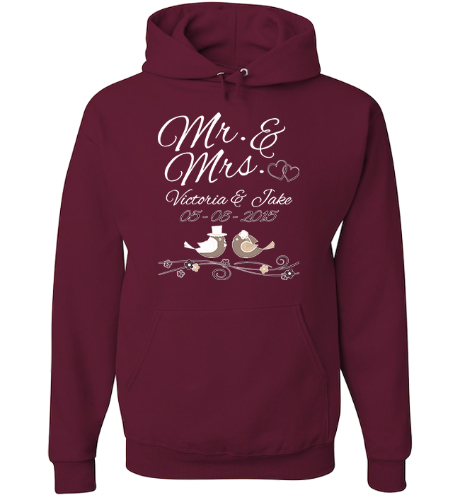 Personalized Mr Mrs Apparel - Kensleys - 4