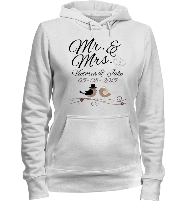 Personalized Mr Mrs Apparel - Kensleys - 3