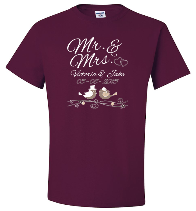 Personalized Mr Mrs Apparel - Kensleys - 6