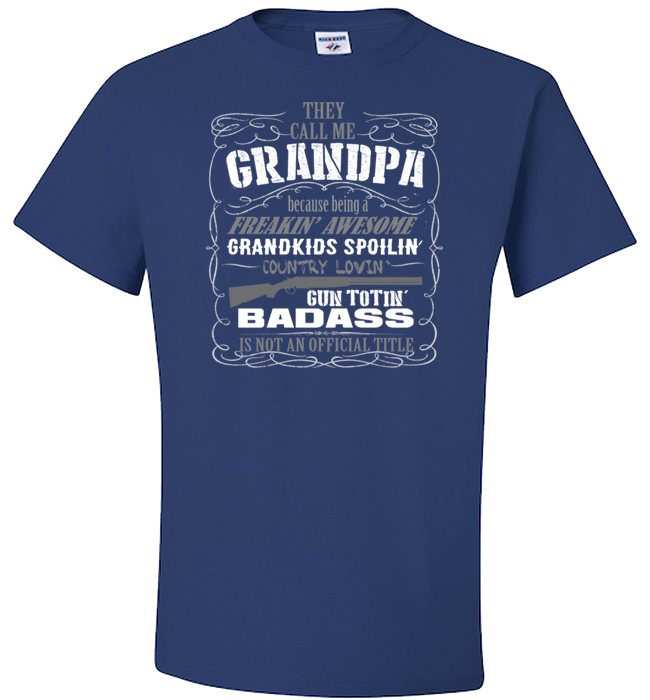 They Call Me Grandpa Apparel - Kensleys - 3