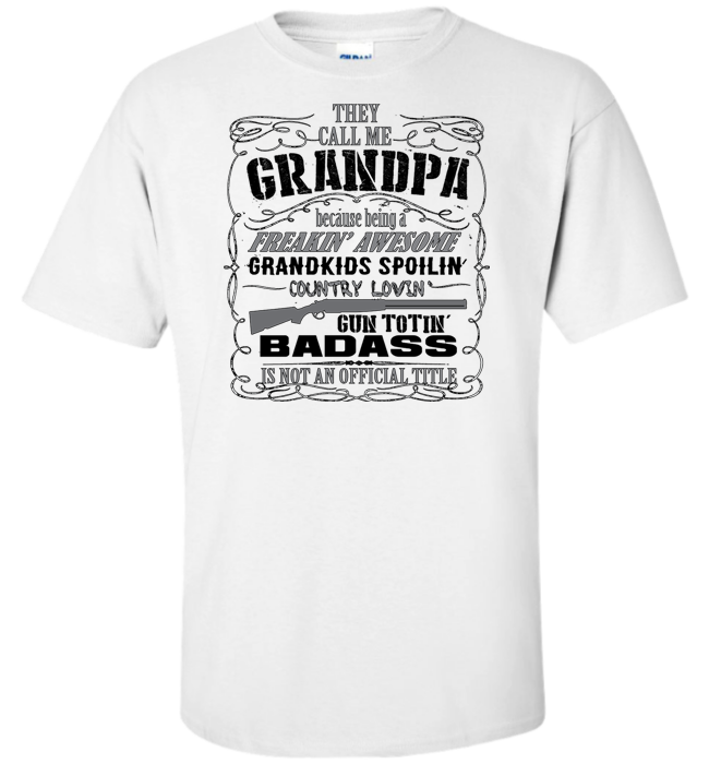 They Call Me Grandpa Apparel - Kensleys - 4