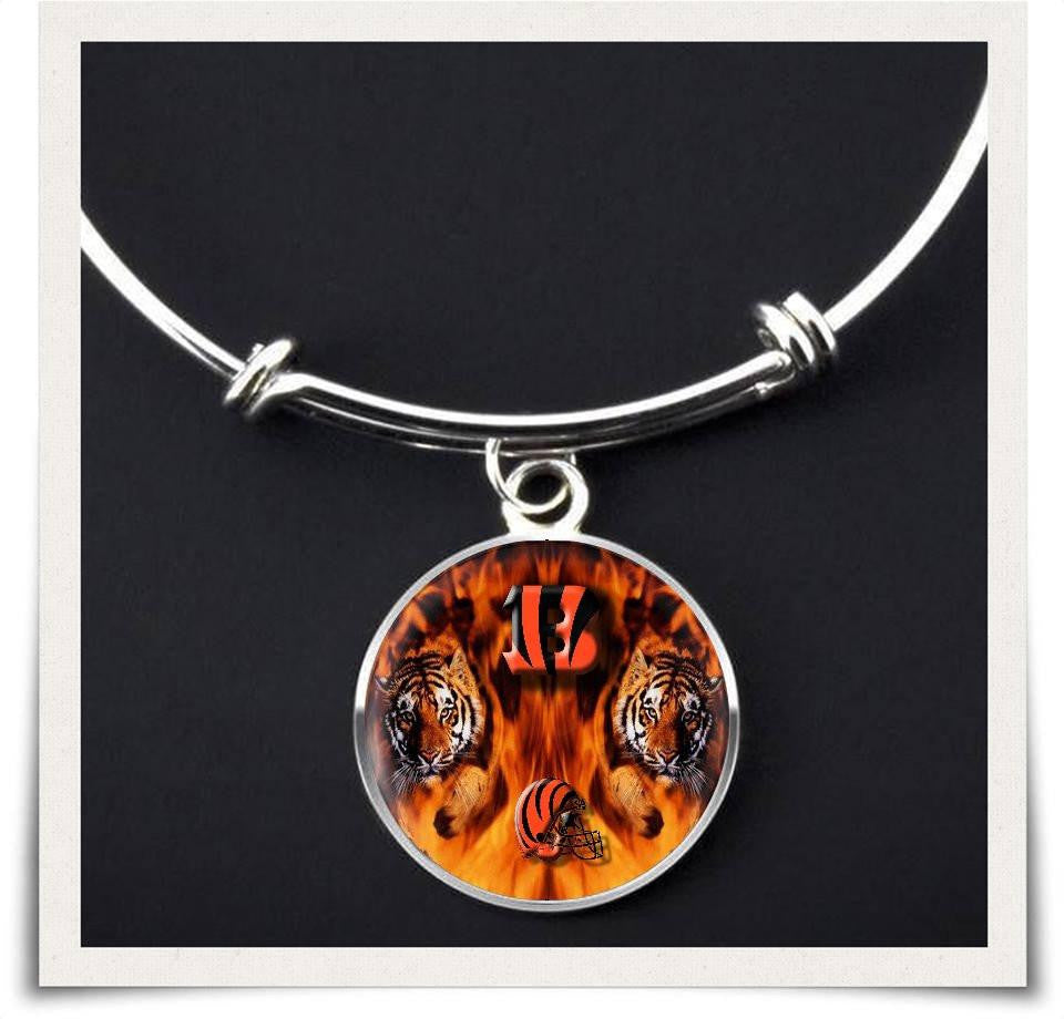 Cincinnati Bangle and Necklace