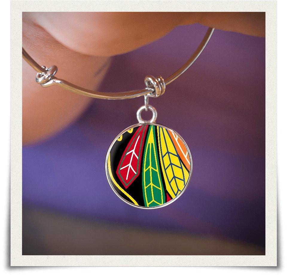 Chicago BH Bangle and Necklace