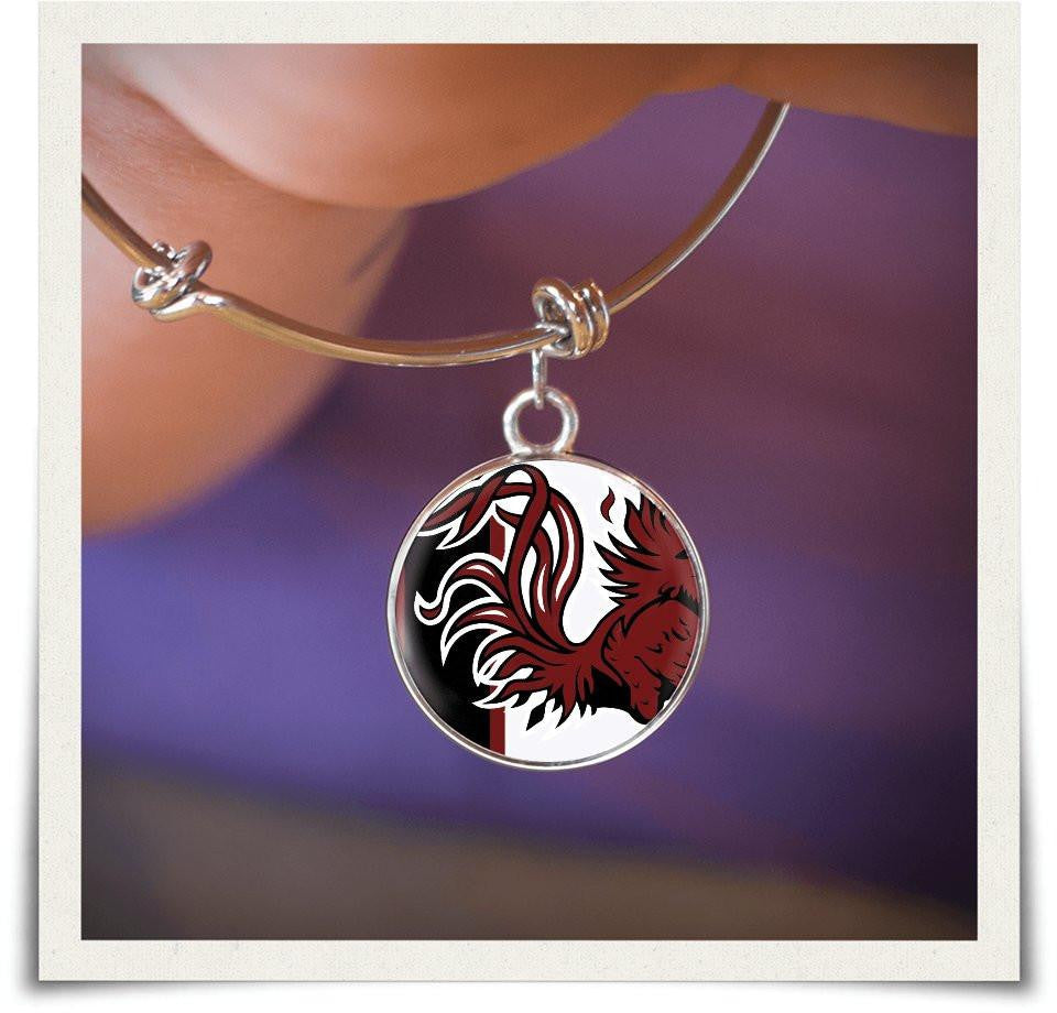 South Carolina Bangle and Necklace