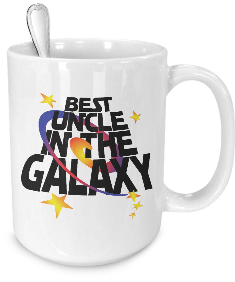 Best Uncle in the Galaxy Mug - Kensleys - 4