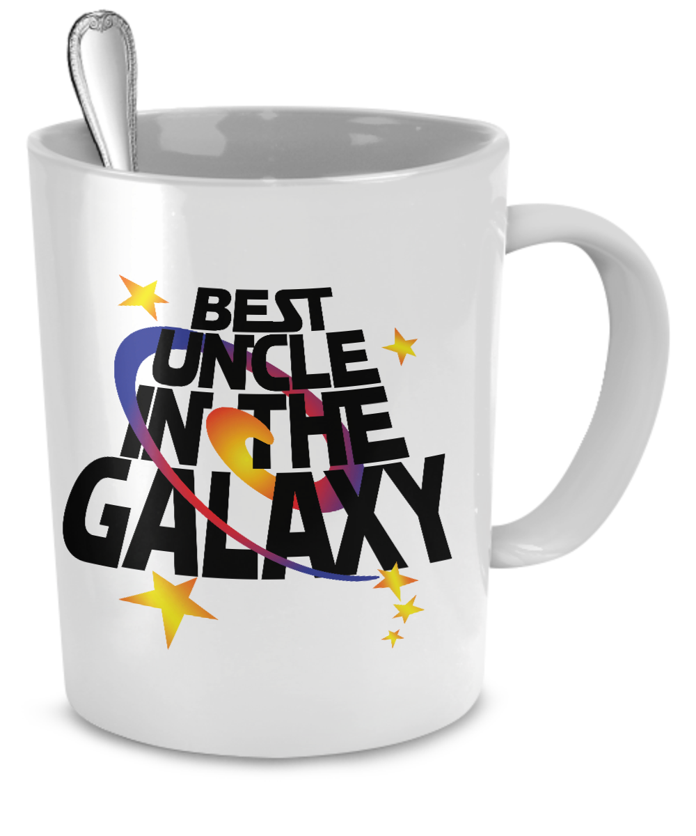 Best Uncle in the Galaxy Mug - Kensleys - 2