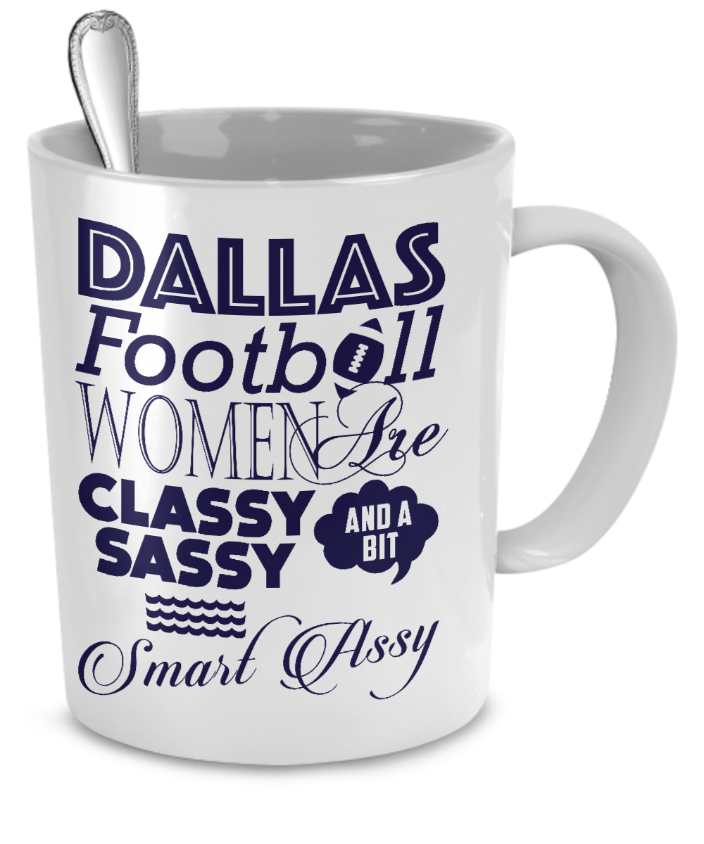 Dallas Football Women Mug - Kensleys - 2