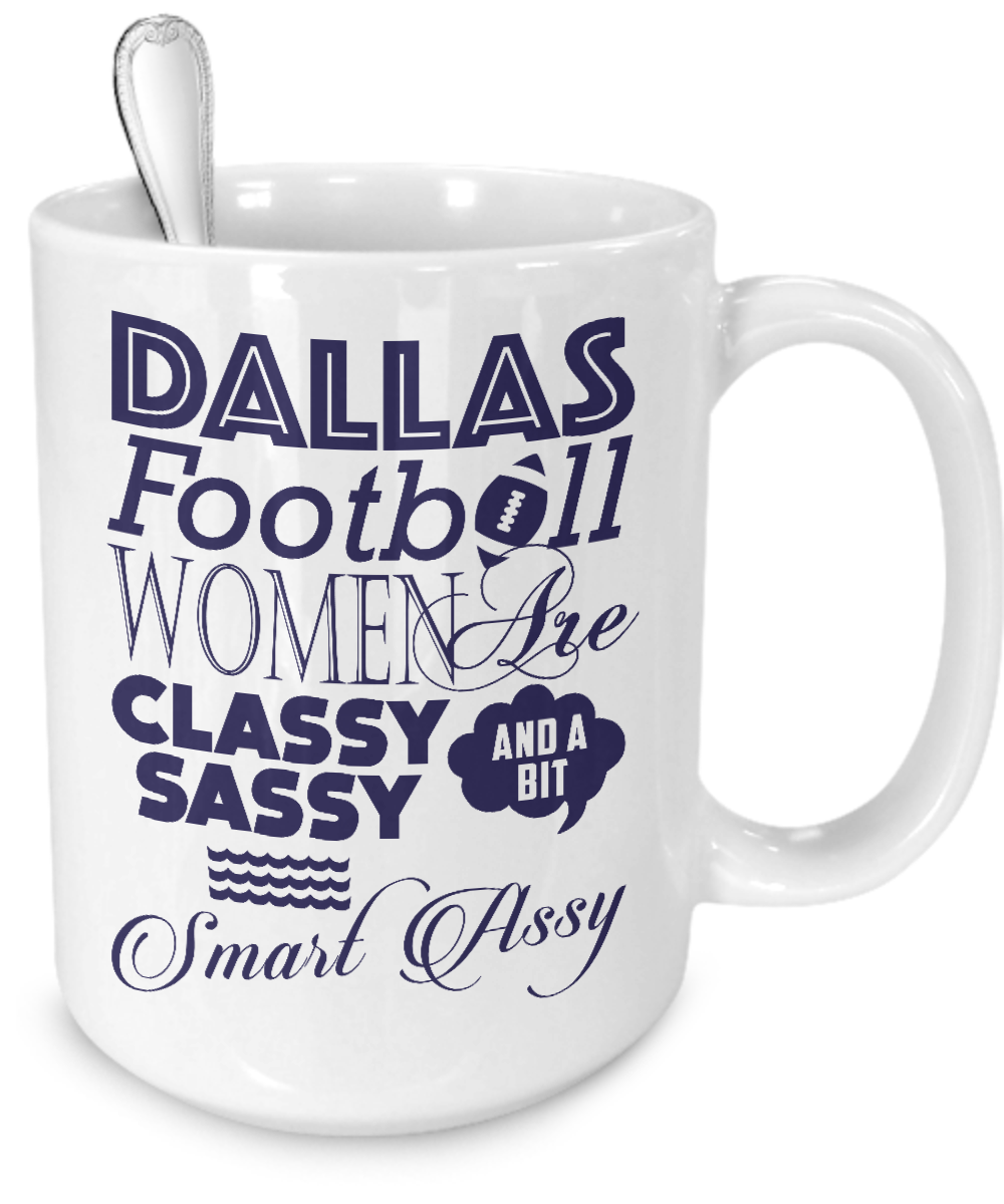 Dallas Football Women Mug - Kensleys - 4