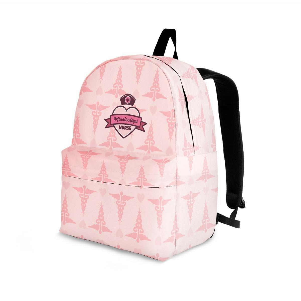 MS Nurse Pink Backpack
