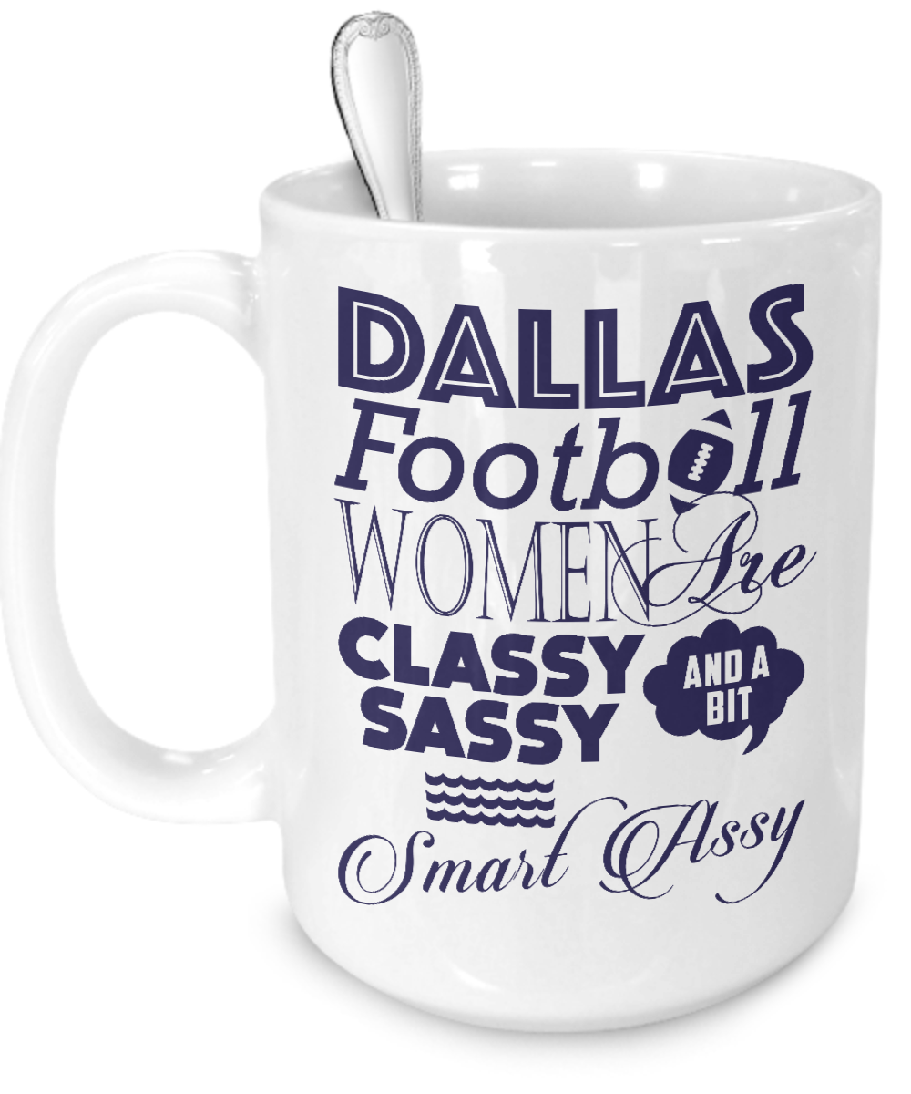 Dallas Football Women Mug - Kensleys - 3