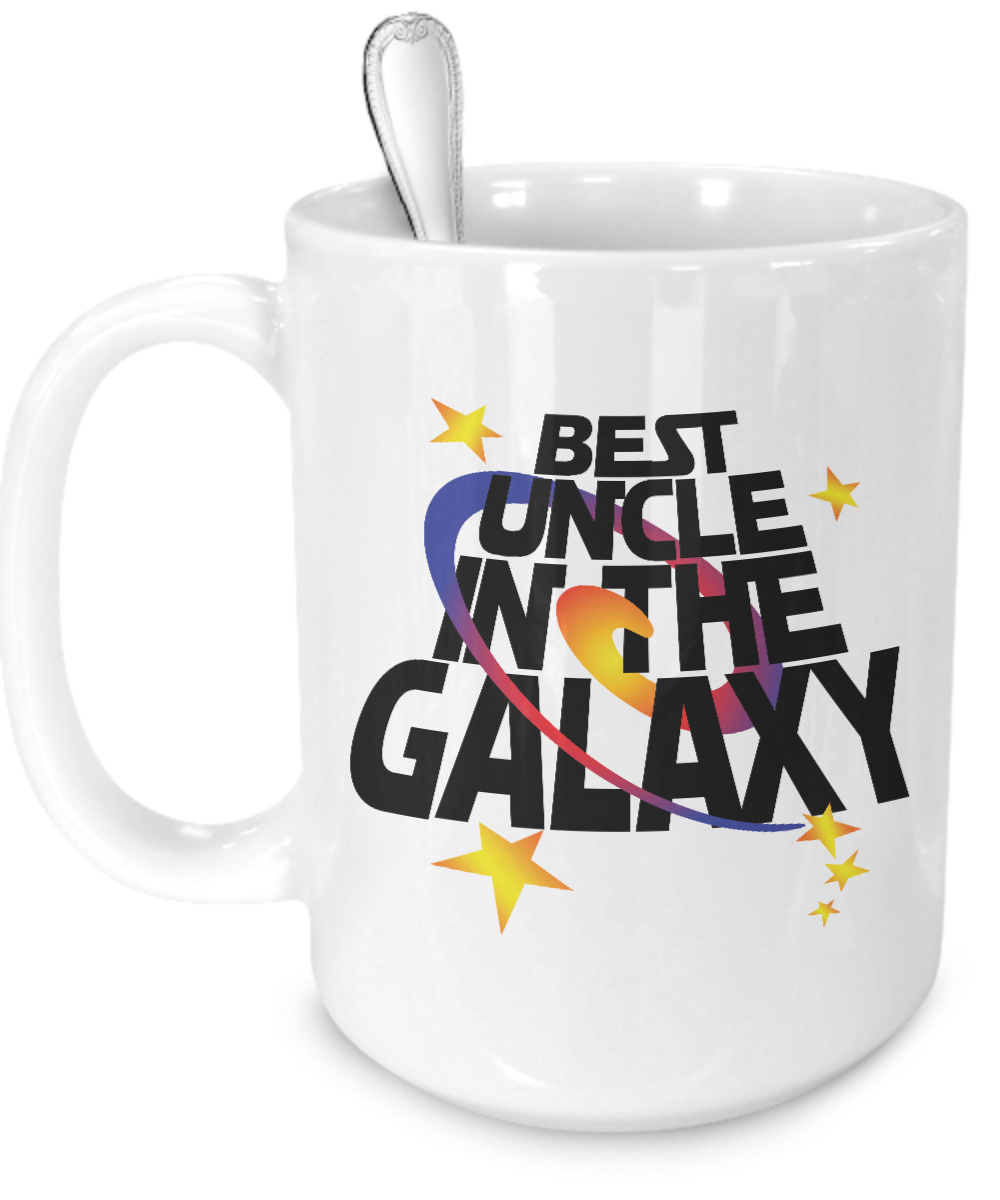 Best Uncle in the Galaxy Mug - Kensleys - 3
