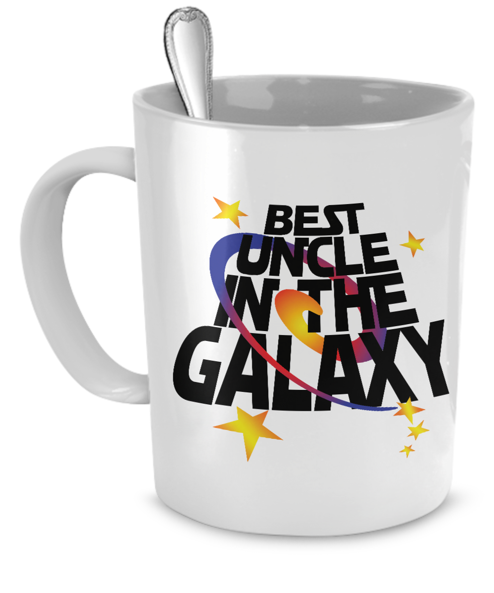 Best Uncle in the Galaxy Mug - Kensleys - 1