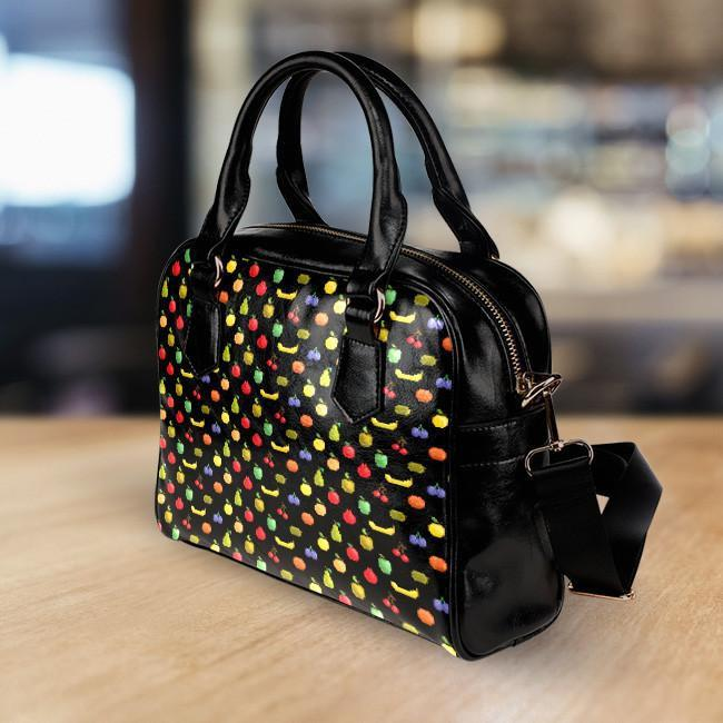 Bitmap Fruit Handbag
