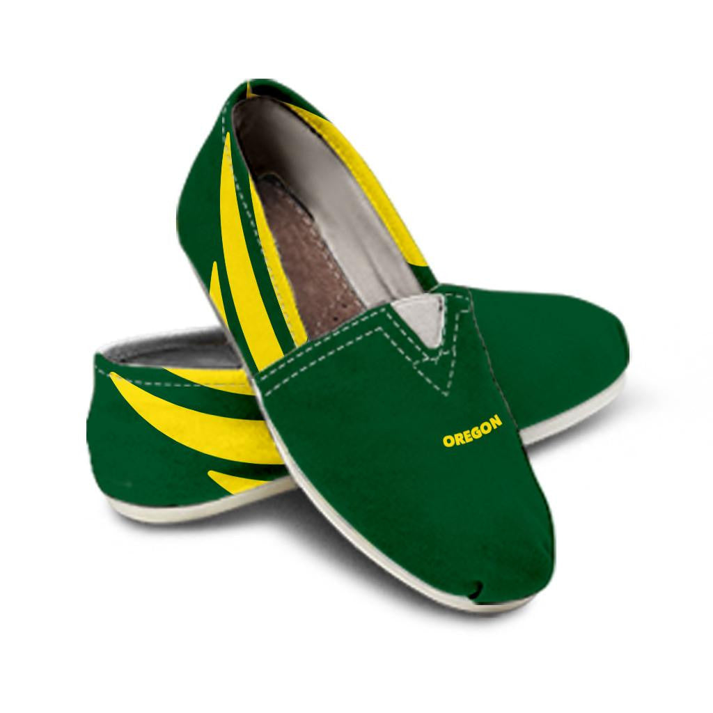 Ladies Oregon Collector Canvas Shoes