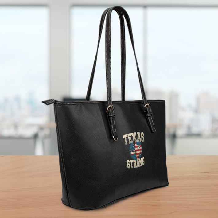 Texas Strong Sm Leather Tote