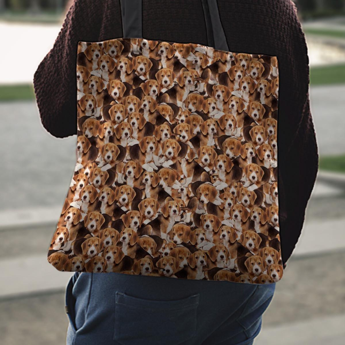 Beagles Tote Bag