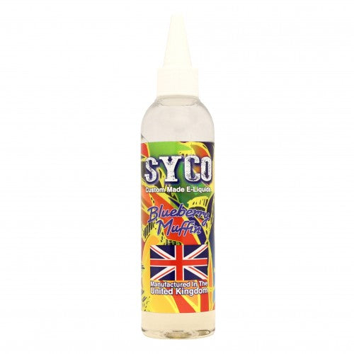 Blueberry Muffin Flavour 100ml SYCO E-Liquids