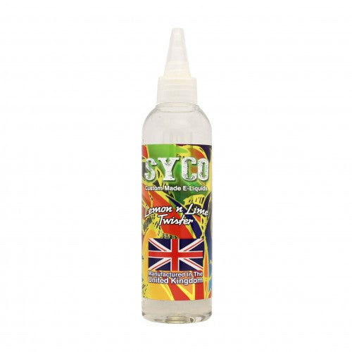 Lemon & Lime Twister Flavour 100ml SYCO E-Liquids