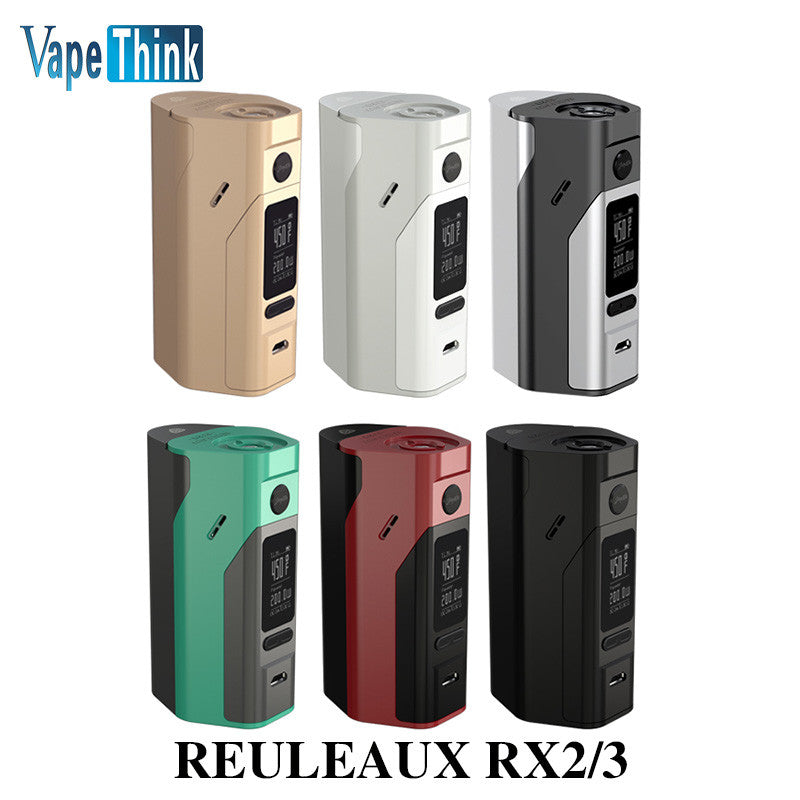 Box Mod Vape RX23 Powered by Two/Three Cells