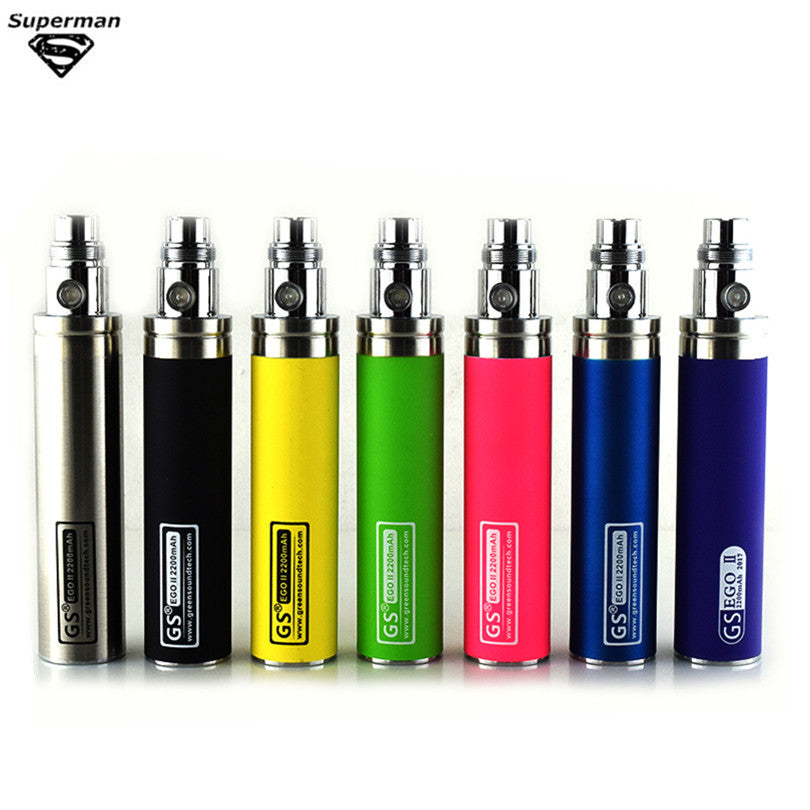Colorful New Big Capacity 2200mah EGO II 1 week Battery