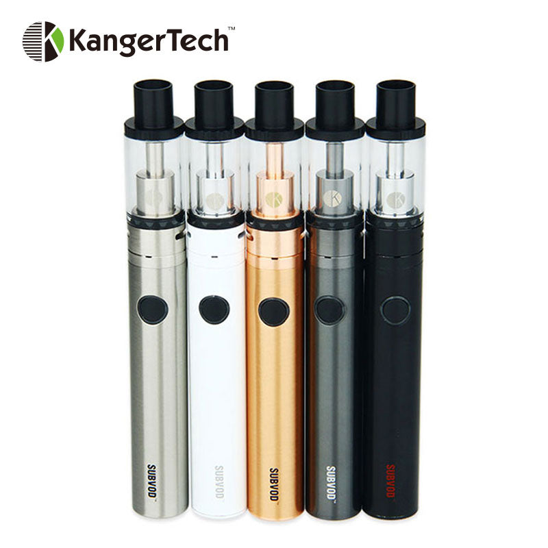 100% Original Kanger SUBVOD-C Vape Starter Kit with 2.8ml Kanger Subtank Nano-C Tank and 1300mAh SUBVOD Battery subvod c Kit