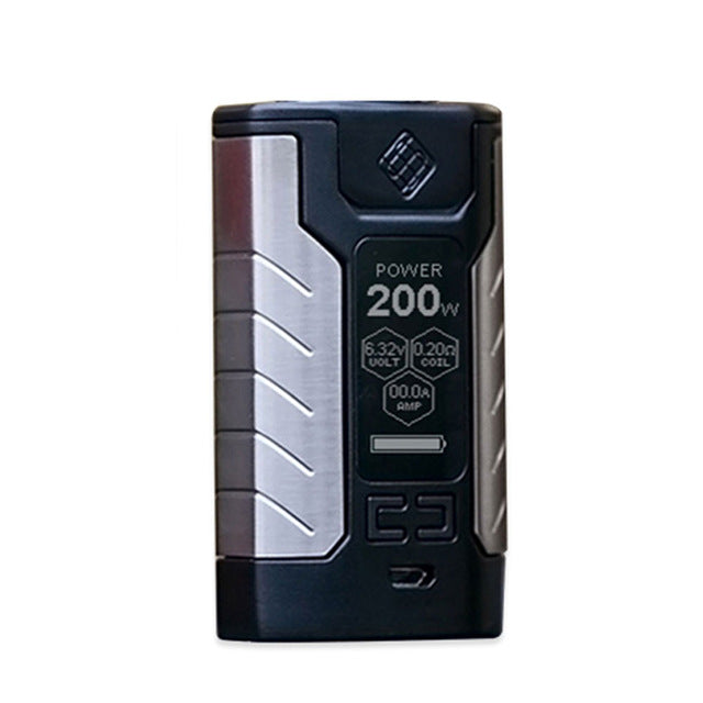 Original WISMEC SINUOUS FJ200 TC Box MOD Built-in 4600mAh Battery Max 200W Output& 1.3-inch OLED Screen Huge Power E-cig Box Mod