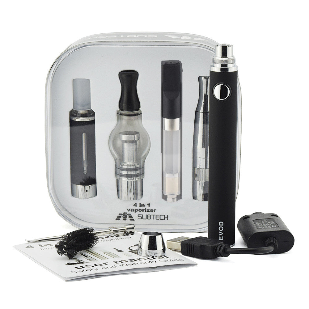 Dry Herb Vaporizer kits 4 in 1 Electronic cigarette