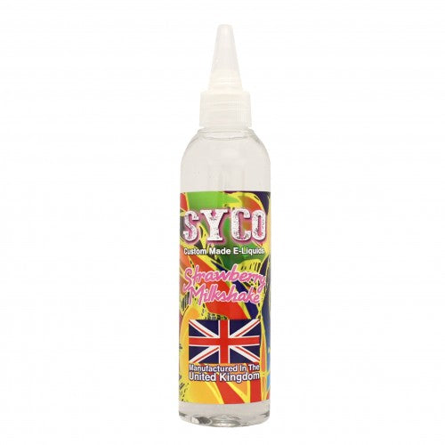 Strawberry Milkshake Flavour 100ml SYCO E-Liquids
