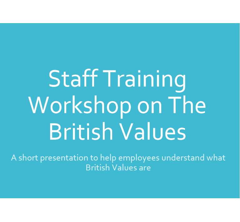 British Values Training