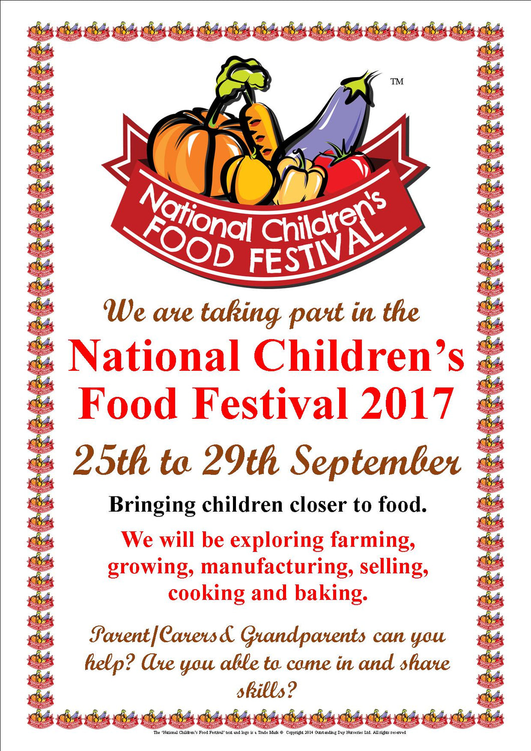 National Children's Food Festival Resource Pack 2017