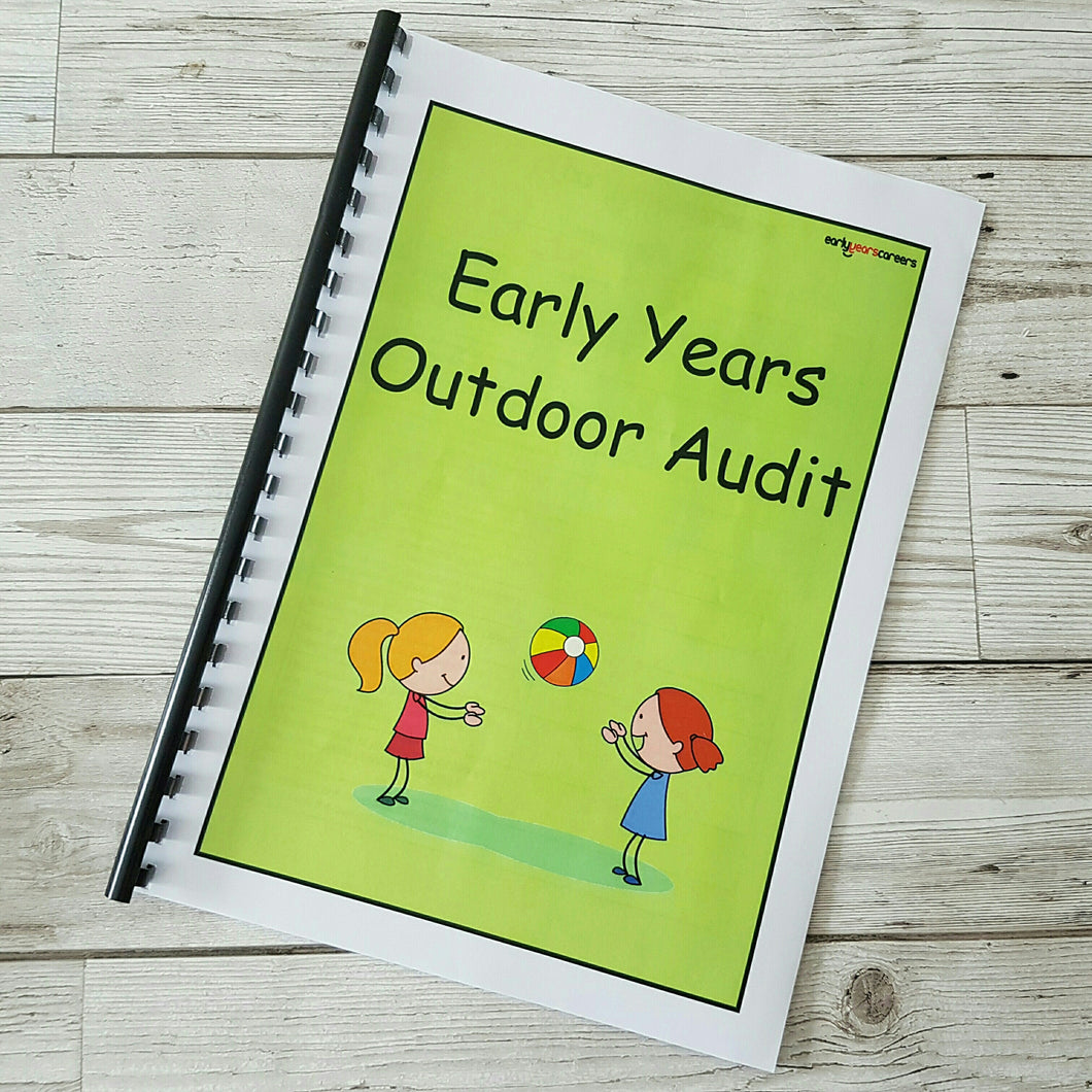 Early Years Outdoor Audit