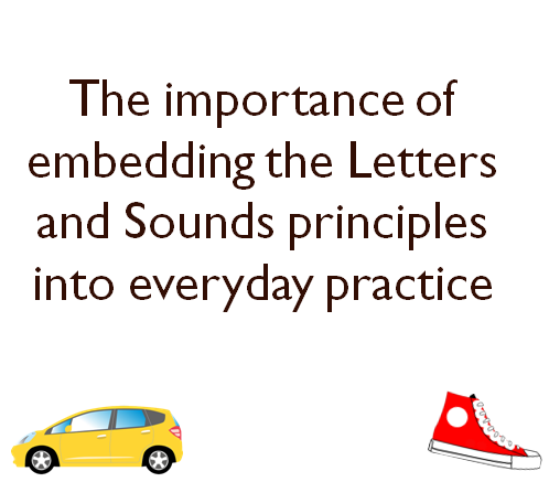 Letter and Sounds Principles Powerpoint