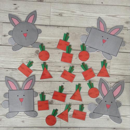 Printable Rabbit Shapes