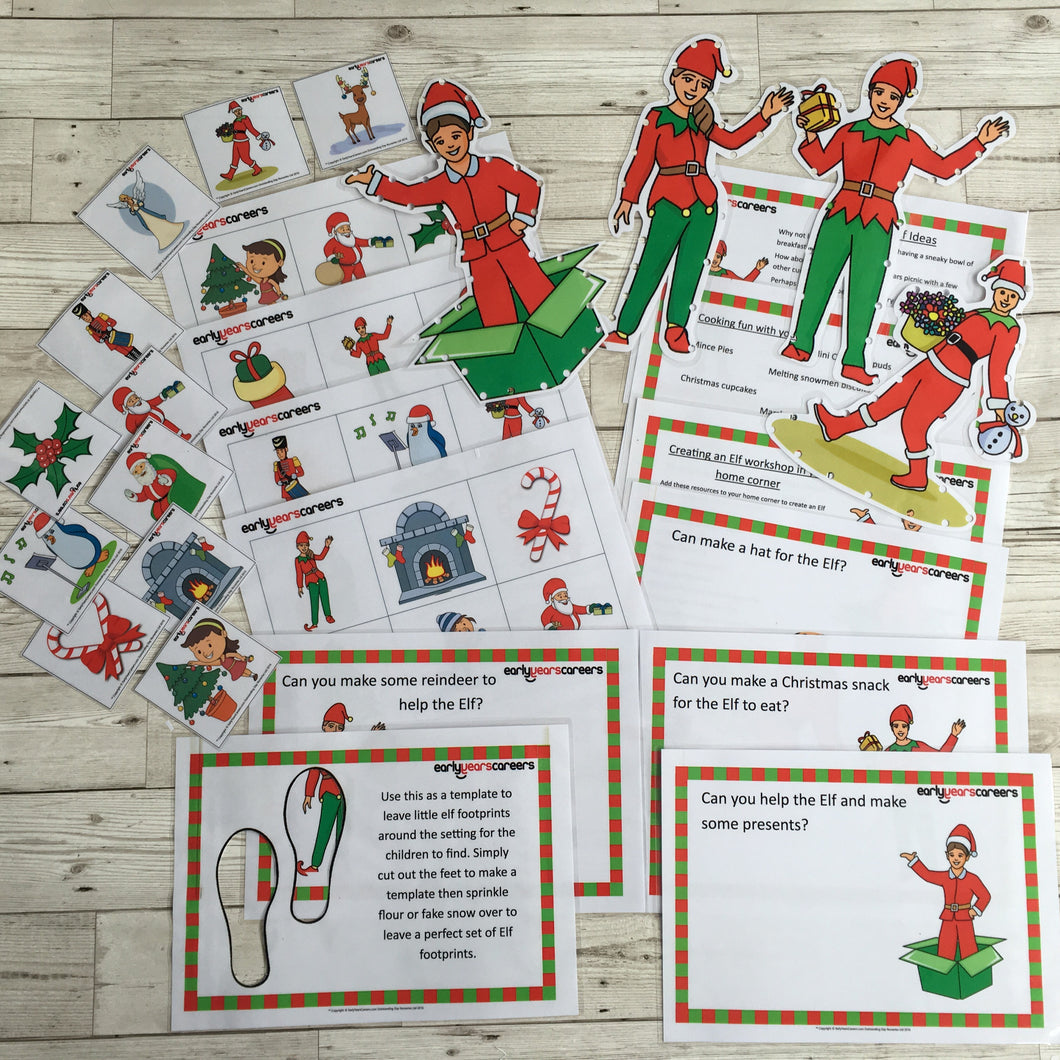 Early Years, EYFS , Ofsted, Development, Improvemment, Nursery, Childminder , Elf on the Shelf, Christmas,  Activites, Fun