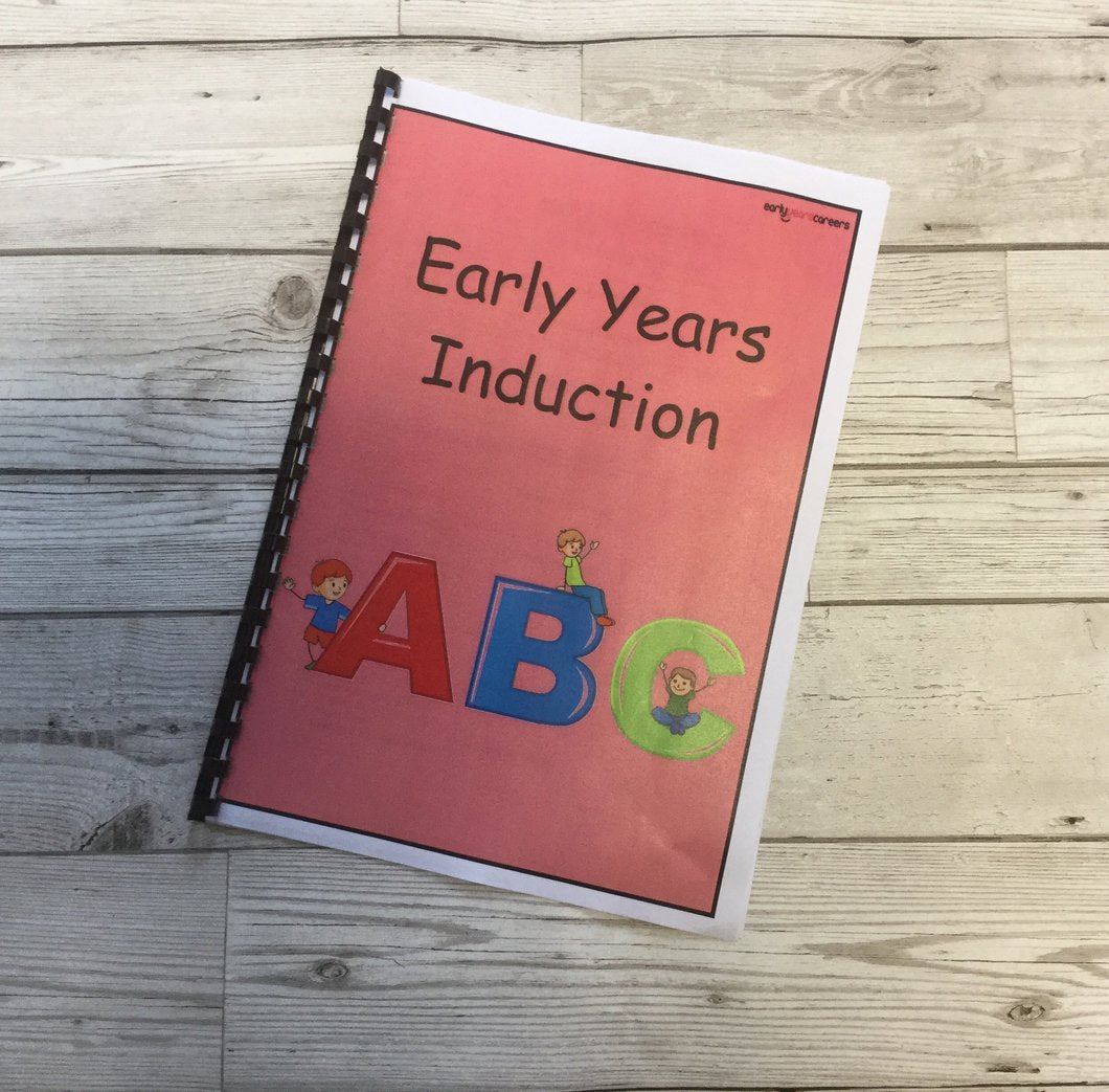 Early Years Induction Downloadable