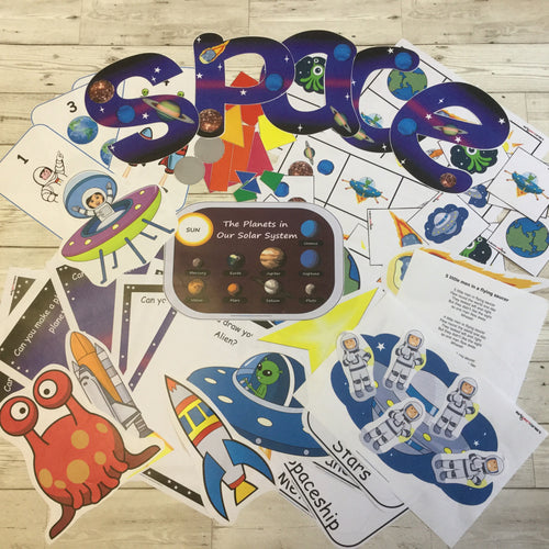 Early Years, EYFS , Ofsted, Development, Improvemment, Nursery, Childminder , Space Activity Bundle