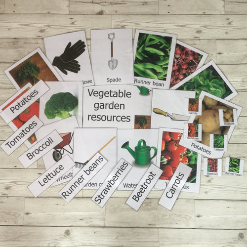 Early Years, EYFS , Ofsted, Development, Improvemment, Nursery, Childminder ,  Vegetable Garden Resource Pack