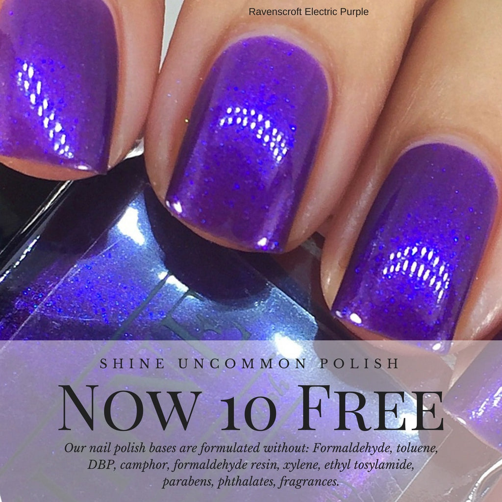 10 Free Nail Polish, what's the big deal?