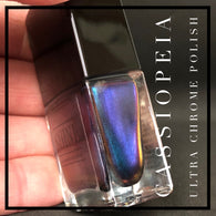 Cassiopeia Multichrome Aqua/Purple/Copper Blue Color Shifting Nail Polish - SHINE Nail Polish