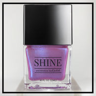 Baby Jane Iridescent Pink Color Shifting Nail Polish - SHINE Nail Polish