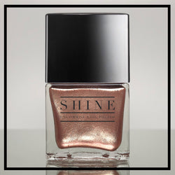 Moonlight Chameleon - Rose Gold Metallic Champagne Nail Polish