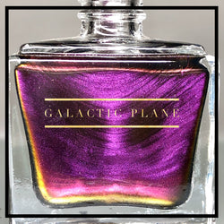 Galactic Plane - Violet, Red, Orange and Green Multichrome Color Shifting Nail Polish